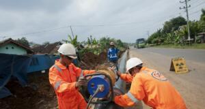 jaringan pipa gas bumi PGN