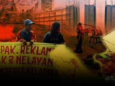 Dampak reklamasi Jakarta. (ilustrasi/aktual.com)