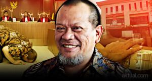 La Nyalla Mahmud Mattalitti divonis bebas oleh majelis hakim. (ilustrasi/aktual.com - foto/antara)