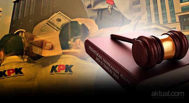 Peraturan Mahkamah Agung No 13 tahun 2016 - Senjata baru KPK jerat korporasi. (ilustrasi/aktual.com)
