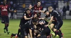 AC Milan Sabet Piala Supercoppa Italiana 2016