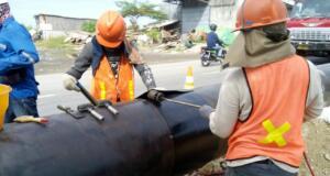 Pembangunan jaringan gas bumi PGN