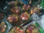Cowekan yang dibawa masyarakat dalam perayaan Maulid Nabi Muhammad SAW di Pasuruan, Sabtu (7/1)