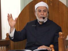 Maulana Syekh Yusri Rusydi Jabr Al Hasani saat memberikan tausiyahnya ke Majelis Zawiyah Arraudah, di Tebet, Jakarta Selatan, Sabtu (28/1/2017).Dihadapan ratusan jemaah, Syekh Yusri menjelaskan ihwal sufi atau orang yang mendalami tasawwuf. AKTUAL/Munzir