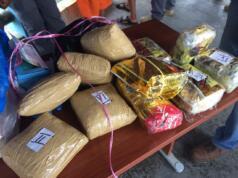 Barang bukti narkoba dari WN Malaysia (Dok Aktual/Fadlan Syiam Butho)