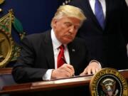 Presiden AS, Donald Trump (Foto: VOA)