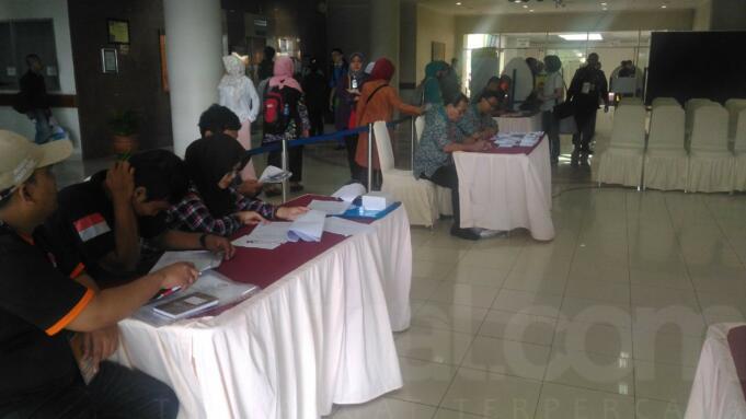 Pemilih di TPS 15 RSCM (Dok Aktual/Novrizal Sikumbang)
