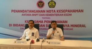 ESDM teken MoU dengan BNPT terkait sabotase dan terorisme