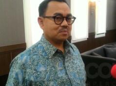 Mantan Menteri ESDM, Sudirman Said usai bertemu dengan Ignasius Jonan, Jumat (3/3)