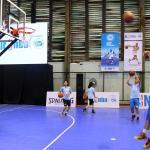 program Jr NBA Indonesia di Jakarta, Sabtu (25/3). Program Jr NBA Indonesia 2017 yang dipersembahkan oleh Frisian Flag akan memberangkatkan 16 pemain ke NBA Experience. Jumlah ini mengalami peningkatan dibanding tahun lalu. AKTUAL/Tino Oktaviano