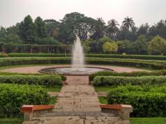 Taman air mancur