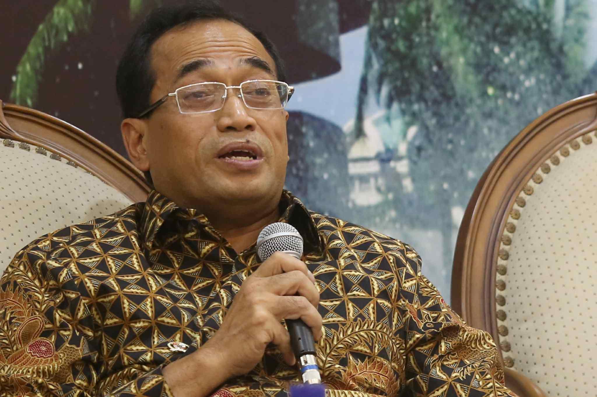 Menteri Perhubungan Budi Karya Sumadi. AKTUAL/Tino Oktaviano