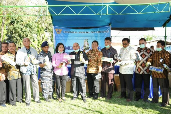 Komisi XI DPR RI kunjungan ke KPPBC Tipe Pratama Pantoloan, Palu, Sulawesi Tengah