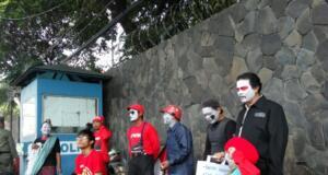 Aksi Teatrikan Buruh may day