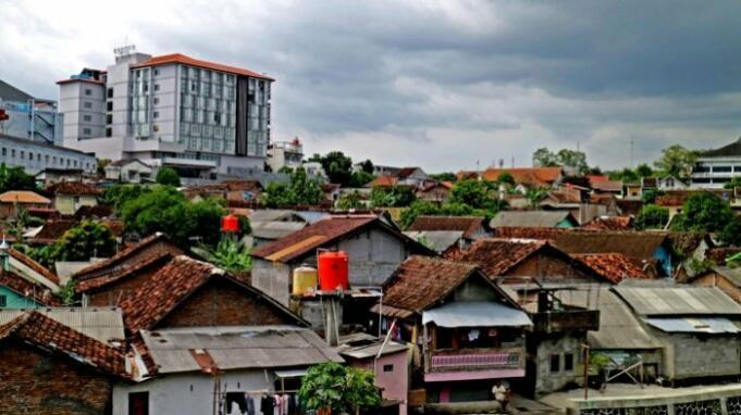 Pemukiman padat penduduk di Yogyakarta (Foto: Ist)