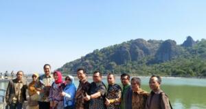 Komis X DPR RI meninjau objek wisata Gunung Api Purba Nglanggeran, Kab. Gunung Kidul