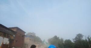 Pembongkaran kawasan Bukit Duri (Foto: Gespy )