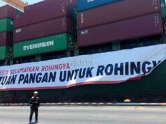 Bantuan Beras untuk Rohingya