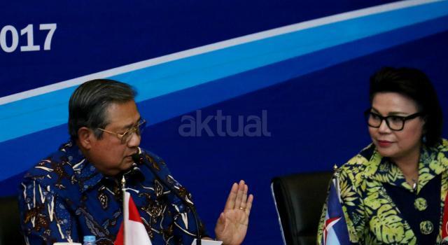 Komisi Pemberantasan Korupsi (KPK) melakukan kunjungan ke DPP Partai Demokrat dalam rangka diskusi sistem integritas partai politik. AKTUAL/Munzir