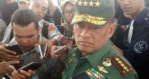 Mantan Panglima TNI Jenderal Gatot Nurmantyo