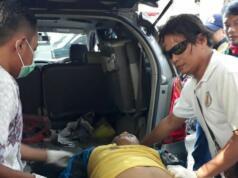 Pelaku Curanmor yang ditembak polisi (Aktual/Ahmad H Budiawan)