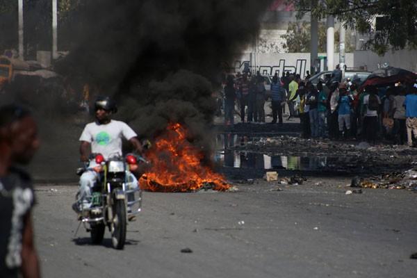 Unjuk rasa Haiti (Foto: Istimewa)