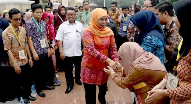 Mensos mengajak para mahasiswa dari berbagai kampus Se-Indonesia untuk selalu mengingat jasa-jasa pahlawan nasional. AKTUAL/Munzir