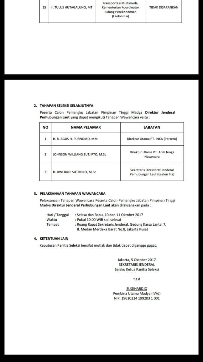Lelang Jabatan (Dok Aktual/Ahmad H Budiawan)