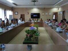 Komite II DPD RI melakukan pengawasan terkait UU Ketahanan Pangan, di Makasar Sulawesi Selatan, Senin (20/11). Pasalnya, banyak lahan pangan beralih fungsi tidak terkendali mempengaruhi kebijakan ketahanan dan kedaulatan pangan di Indonesia.