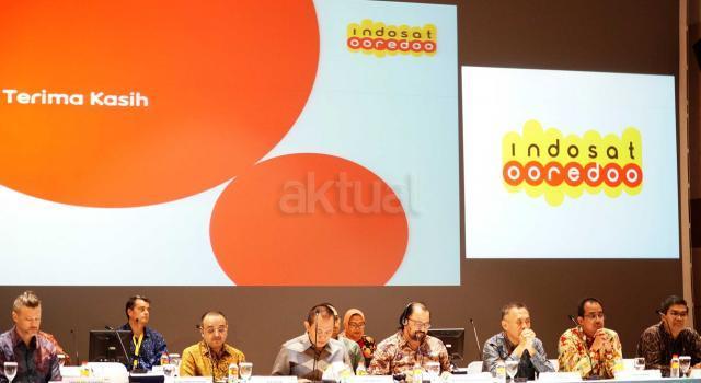 Jajaran Komisaris dan Direksi Indosat Ooredoo saat Rapat Umum Pemegang Saham Luar Biasa di Jakarta, Selasa (14/11). AKTUAL/Eko S Hilman