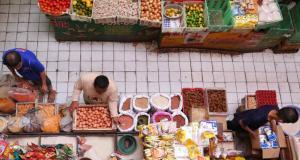 harga komoditas pangan di pasar merangkak naik