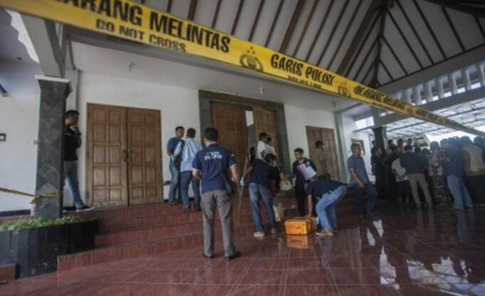 Penyerangan Gereja di Yogyakarta (Foto: Istimewa)