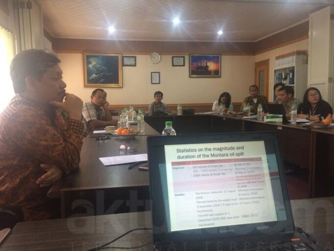 Diseminasi Riset ITS: Presiden Perlu Memperjuangkan Kasus Tumpahan Minyak Montara dalam Agenda Bilateral Indonesia dan Australia