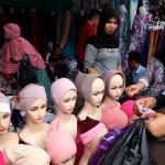 25 berburu busana muslim di Tanah Abang JOE9