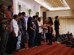 Acara Deklarasi dan Pelantikan Tim Alpha Relawan Jokowi-Amin. Selasa, 6 November 2018. Bertempat di Gedung Millenium Hall Kota Kupang NTT