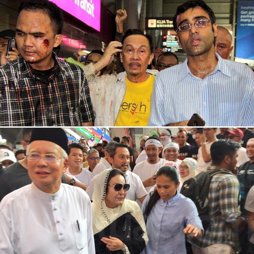Perbedaan Demonstrasi di saat PH belum jadi penguasa dan PH sudah menjadi penguasa