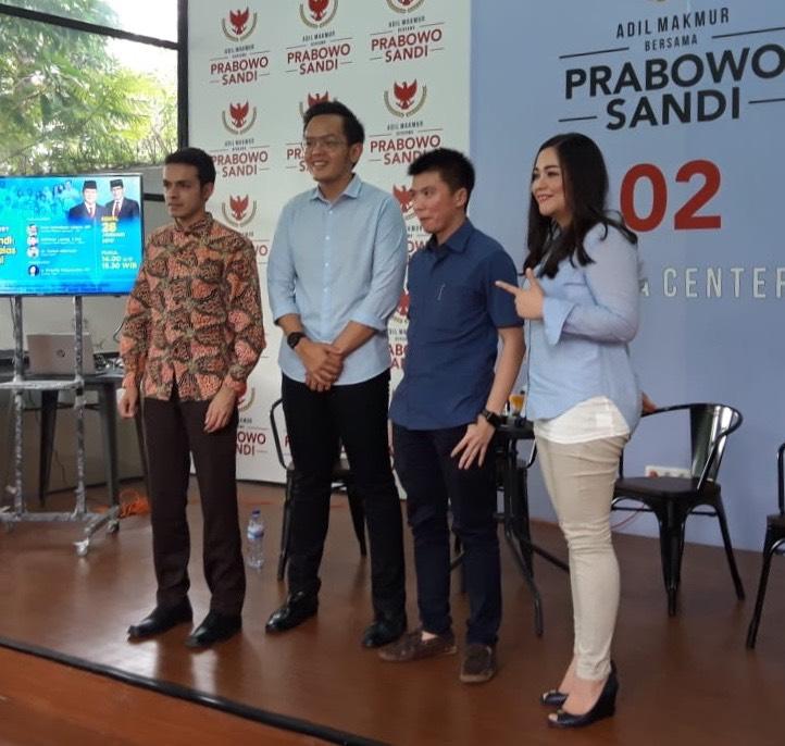 Ini Alasan Kaum Milenial Labuhkan Pilihan Ke Prabowo-Sandi