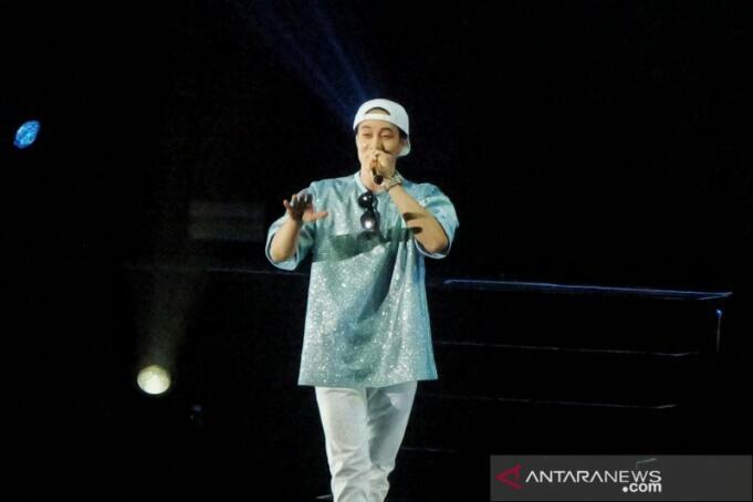 So Ji saat tampil di Jakarta