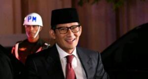 Sandiaga Salahuddin Uno jelang debat ketiga
