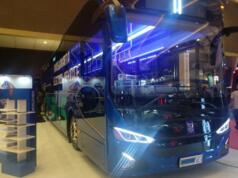 Bus Listrik karya Mobil Anak Bangsa