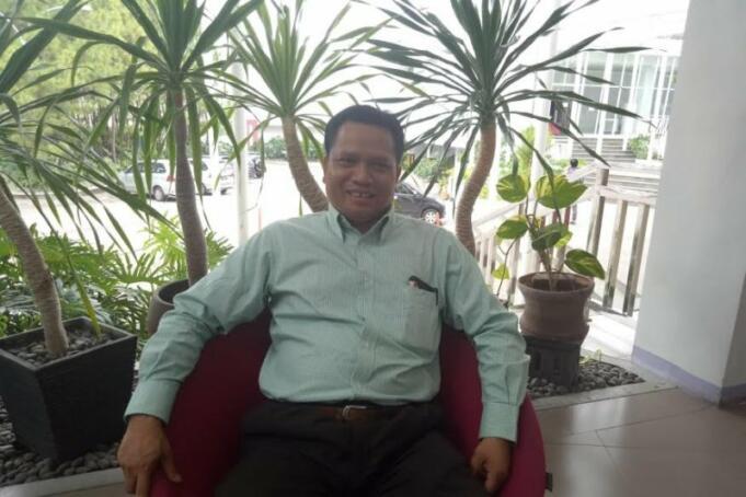 Anggota Bawaslu Kabupaten Garut Asep Nurjaman