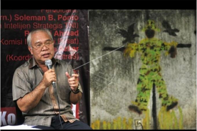 Mantan Kepala Badan Intelijen Strategis (Kabais) TNI Laksda TNI (Purn) Soleman B Ponto