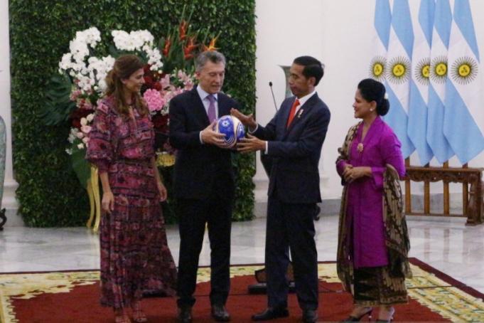 Presiden Argentina Mauricio Macri Kunjungi Jokowi di Istana Bogor