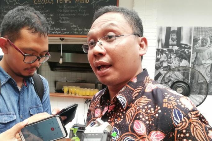 Ketua Departemen Penataan Produksi Koperasi dan Pemasaran API M Rifai