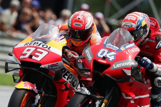 Salip Marquez di Tikungan Terakhir, Dovizioso Juarai Moto GP Austria