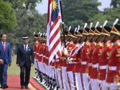 Upacara Kenegaraan Sambut Raja Malaysia, Raja Malaysia, Yang di-Pertuan Agong XVI Al-Sultan Abdullah Al-Mustafa Billah Shah Ibni Almarhun Sultan Haji Ahmad Shah Al-Musta'in Billah