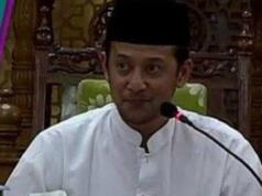 Pengasuh Pondok Pesantren Al-Hikam Malang Hilman Wajdi yang juga putra almarhum mantan Ketua PBNU KH Hasyim Muzadi. (Foto: Istimewa)