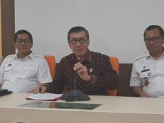 Menteri Hukum dan HAM Yasonna Laoly menyampaikan permohonan maaf di Kantor Kemenkumham, Rabu (22/1/2020)
