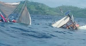 Kapal tenggelam (Antara/istimewa)