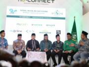 Diskusi Sosial Media NU Gathering di Gedung Pengurus Besar Nahdlatul Ulama, Jakarta, Rabu (29/1/2020). ANTARA/ PB NU